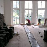 Parquet floor fitting from start to finish