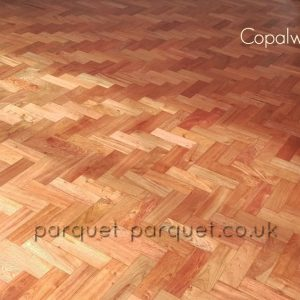 Copalwood floor