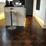 Parquet flooring kitchen or bathroom?