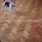 PITCH PINE – Reclaimed Parquet long block