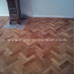 Reclaimed Oak floor photos