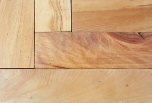 Maple close-up shows grain differences