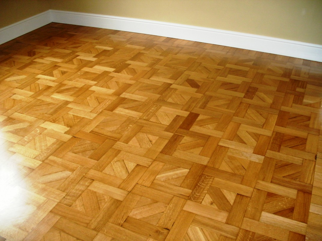 Parquet Wood Flooring ~ Pattern differences in parquet flooring