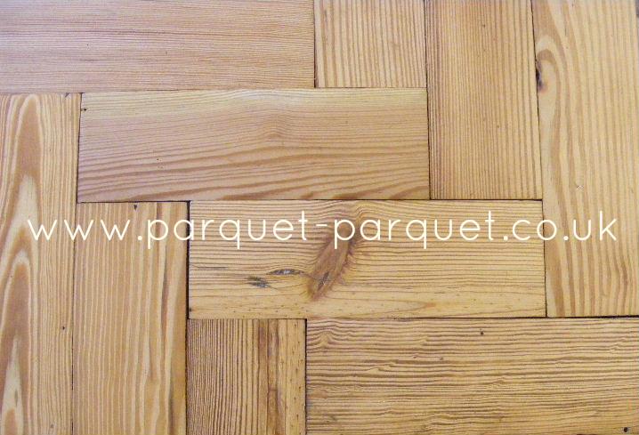 pitch pine reclaimed parquet bitumen removed parquet parquet. Black Bedroom Furniture Sets. Home Design Ideas