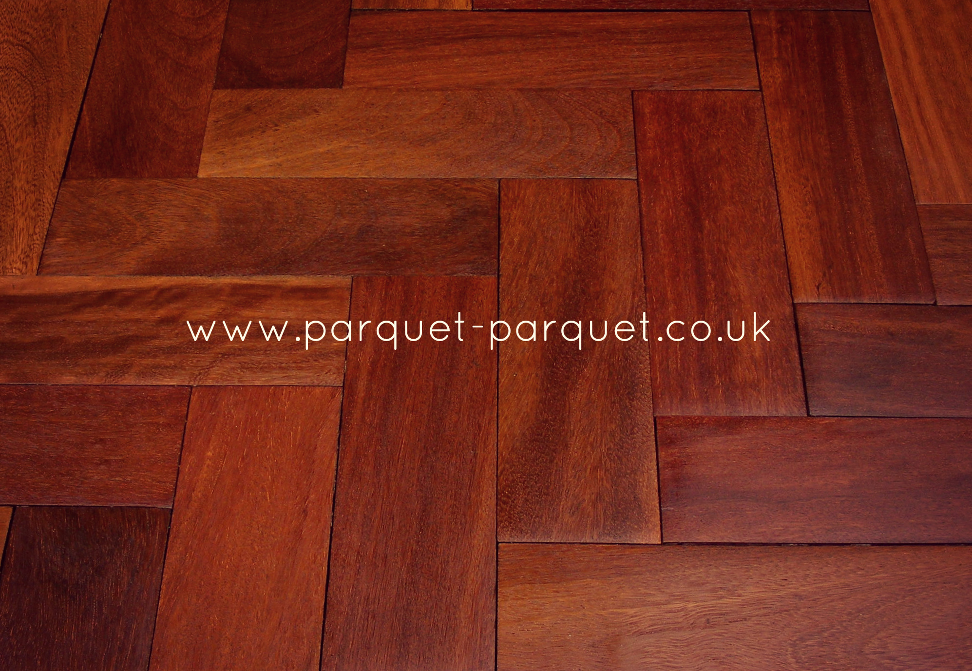 Rhodesian mahogany reclaimed parquet parquet parquet for Mahogany flooring