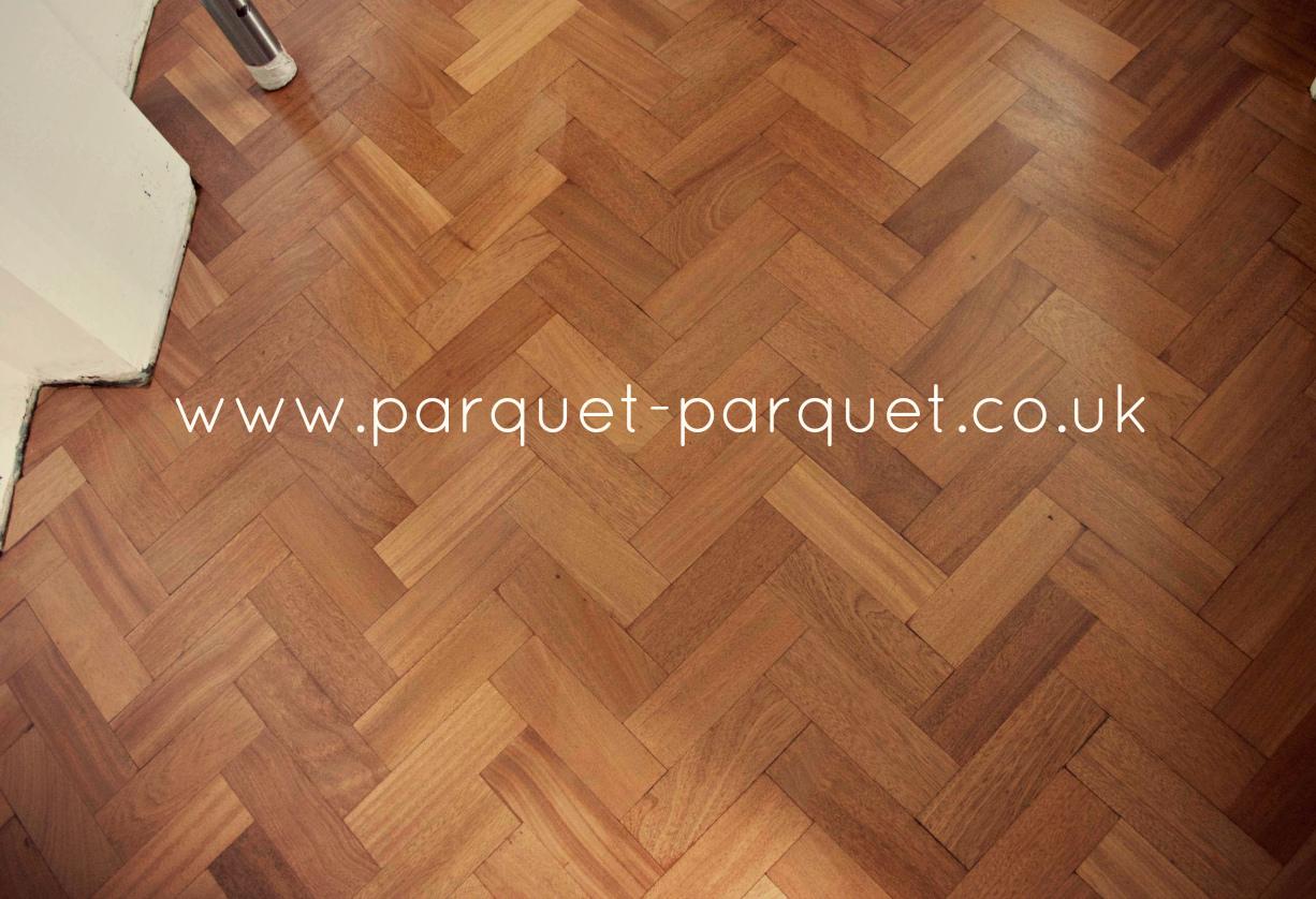 The london wood flooring co - Sapele Parquet Floor London